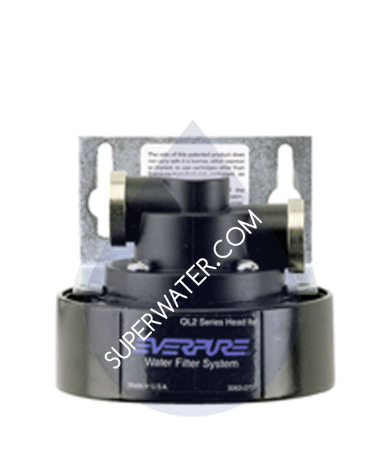 Ev9272 18 only 54 free ship pentair everpure ql2 single head for Pentair everpure
