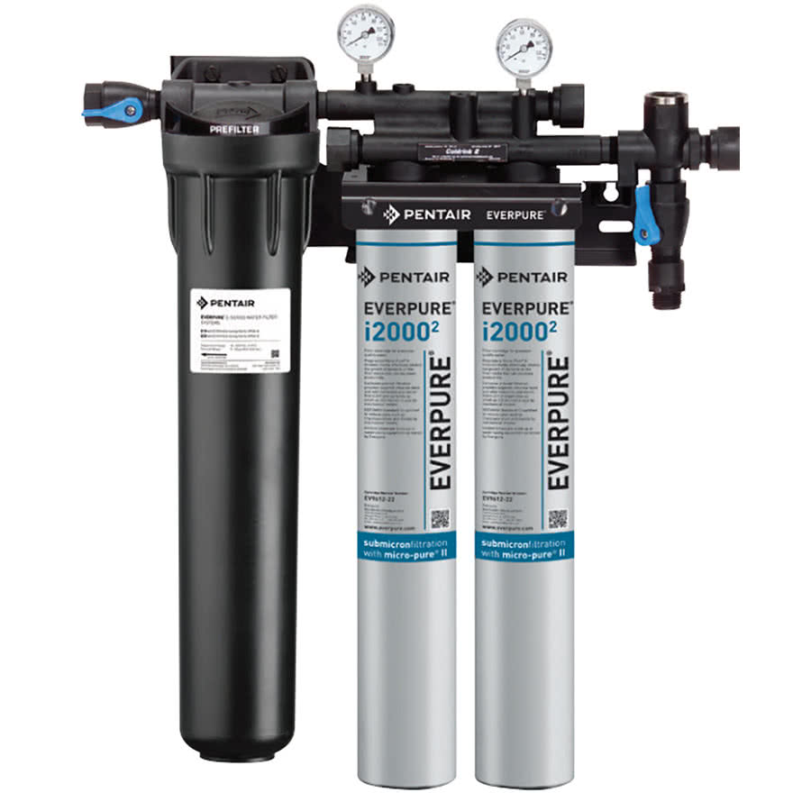Ev9324 22 488 free ship w coupons everpure insurice twin for Pentair water filtration
