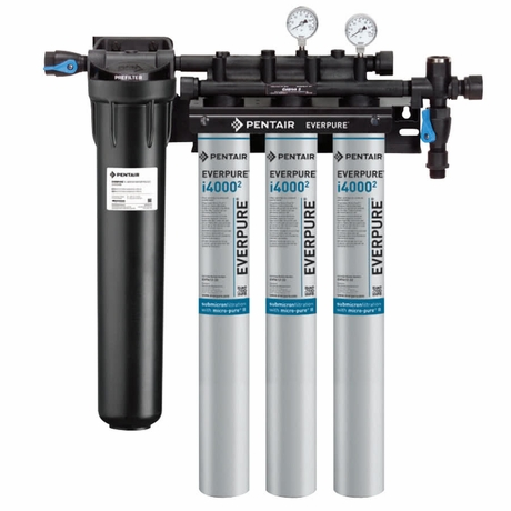 Ev9325 23 638 w coupons everpure insurice triple pf i4000 for Pentair everpure water filter