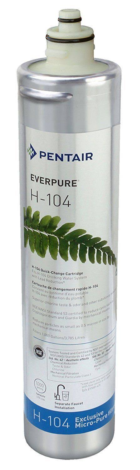 Ev9612 16 69 w free ship pentair everpure h 104 water for Pentair water filters