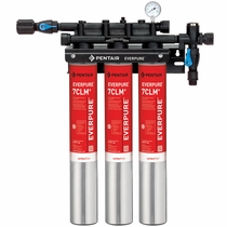 EV9771-13 Pentair Everpure QC7I 7CLM+ Triple Cloramine Reduction Water Filtration System # EV977113