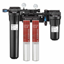 EV9771-32 Pentair Everpure High Flow HF CSR 7CLM+ Twin Water Filtration System # EV977132