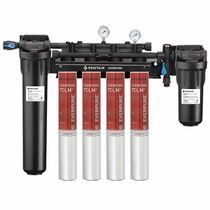EV9771-34 Pentair Everpure High Flow HF CSR 7CLM+ Quad Water Filtration System # EV977134