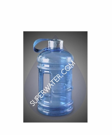 New Wave Enviro 2.2L (1/2 Gallon) BpA Free Bulk Water Bottle 2-Pack