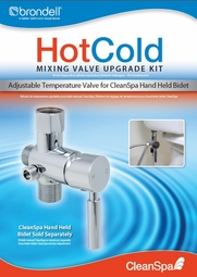 Brondell # MVK-10 Hot/Cold Adjustable Temperature Mixing Valve Upgrade for CleanSpa