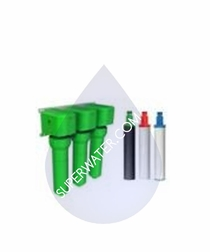 Oasis Filter - R/O 3 Pack Sediment/Bacteria/Cysts (Green) # 037070-3645