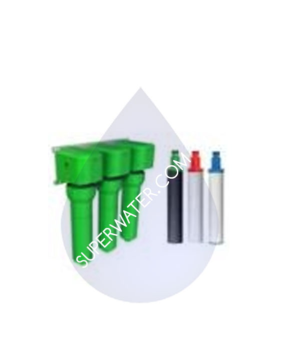 Oasis Filter R O 3 Pack Sediment Bacteria Cysts Green