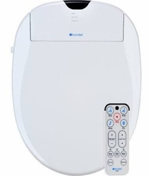 Brondell Swash S1200-EW Elongated White Bidet Toilet Seat