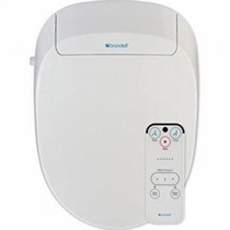 Brondell Swash S300-EW Elongated White Bidet Toilet Seat