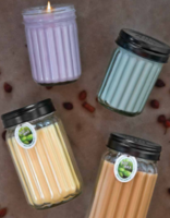 Homespun Jar Candles