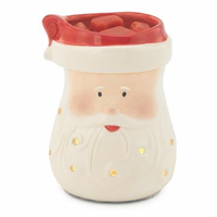 NEW! Illumination Wax Warmer Santa