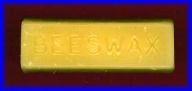 100% Pure Beeswax 1oz Bar