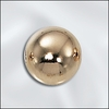 10MM 14 Kt .Gold filled Beads 5 pack