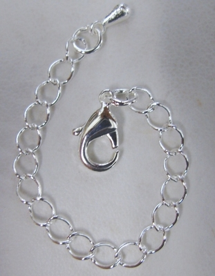 "Lobster Clasp Extender with 3"" Chain"