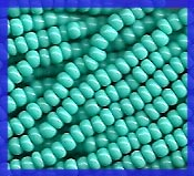 12 Strands Turquoise Green 11/0