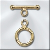 14 Kt. GF Toggles Medium 2 sets 12mm loop