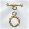 14 Kt. Gold Filled Toggles Small 9mm loop 13mm bar 2 sets