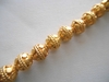 Bali Style Bead - 8.5mm - 24 Beads - 24kt. Gold Over Copper<br>GCBK48