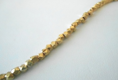 24kt Gold Over Copper Bead 3MM