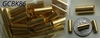 24kt. Gold tubes, bonded over copper core 35 pack 4x11mm Hypo allergenic