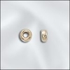 3.2MM Gold Filled Rondelle 10 or 50 Pack