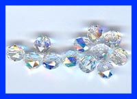 8mm Swarovski Crystal Rounds 12 Pack