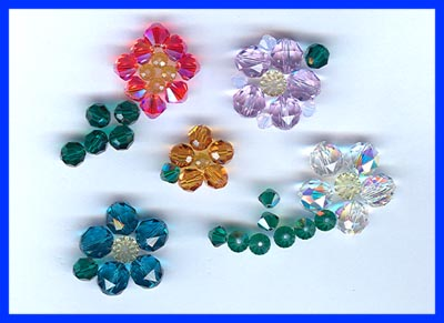 8mm Swarovski Crystal Rounds