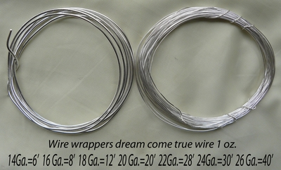 - Wire - .999 Pure Silver Over Copper Core you can pound
