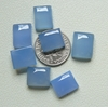 9x11 rectangle Blue Chalcedony Cabochons