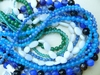 Agate Beads, Round, Faceted many colors and shapes