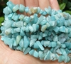 "Amazonite Chip Beads 36"" Strand ready to wear"
