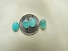 Amazonite Matching Sets 6x8mm 2 Cabochons for $5.00