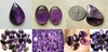 Amethyst Cabochons Lots of shapes and sizes