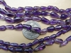 "Amethyst Drop Beads 5x9mm 14"" strands"