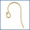 Ball End Ear Wire 11.5x20.0mm (0.66mm) Gold Filled 4 pair (8 pieces)