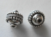 Bead - 10mm - 2 Beads - Sterling Silver<br>B121