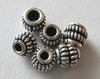 Bead - 5mm - 6 Beads - Sterling Silver<br>B107