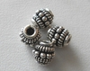 Bead - 7x7mm - 4 Beads - Sterling Silver<br>B82