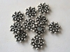 Bead - 8mm - 10 Beads - Sterling Silver<br>B53