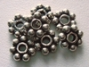 Bead - 8mm - 7 Beads - Sterling Silver<br>B9-8