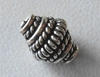 Bead - 9x7mm - 1 Bead - Sterling Silver<br>ORSB1997