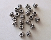 Bead Cap - 4mm - 22 Caps - Sterling Silver<br>BC6-4