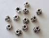 Bead Cap - 6mm - 12 Caps - Sterling Silver<br>BC6-6