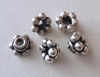 Bead Cap - 8x5mm - 5 Caps - Sterling Silver<br>BC3-8
