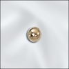 Seamless Beads 5mm 10 Pieces Gold Filled GF-3000-5