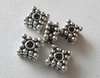 Beads - 6x4mm - 5 Beads - Sterling Silver<br>B113
