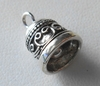 Bell - 15x10mm - 1 Bell - Sterling Silver<br>EI4580