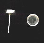 Bezel Cup Post - 6mm Cab Setting - 1 Pair - Sterling Silver<br>P6