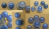 Blue Chalcedony Round cabochons 10, 11, 12, 14, 15, 16 or 18mm
