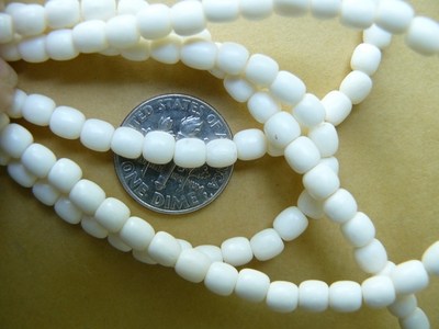 "Camel Bone Beads 4x4.5mm 1mm hole 100 beads 17"" strands"